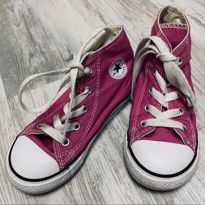 Converse Chuck Taylor All Star Hi Tops Pink Size 9